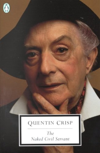 photo of The Naked Civil Servant book cover, about Quentin Crisp